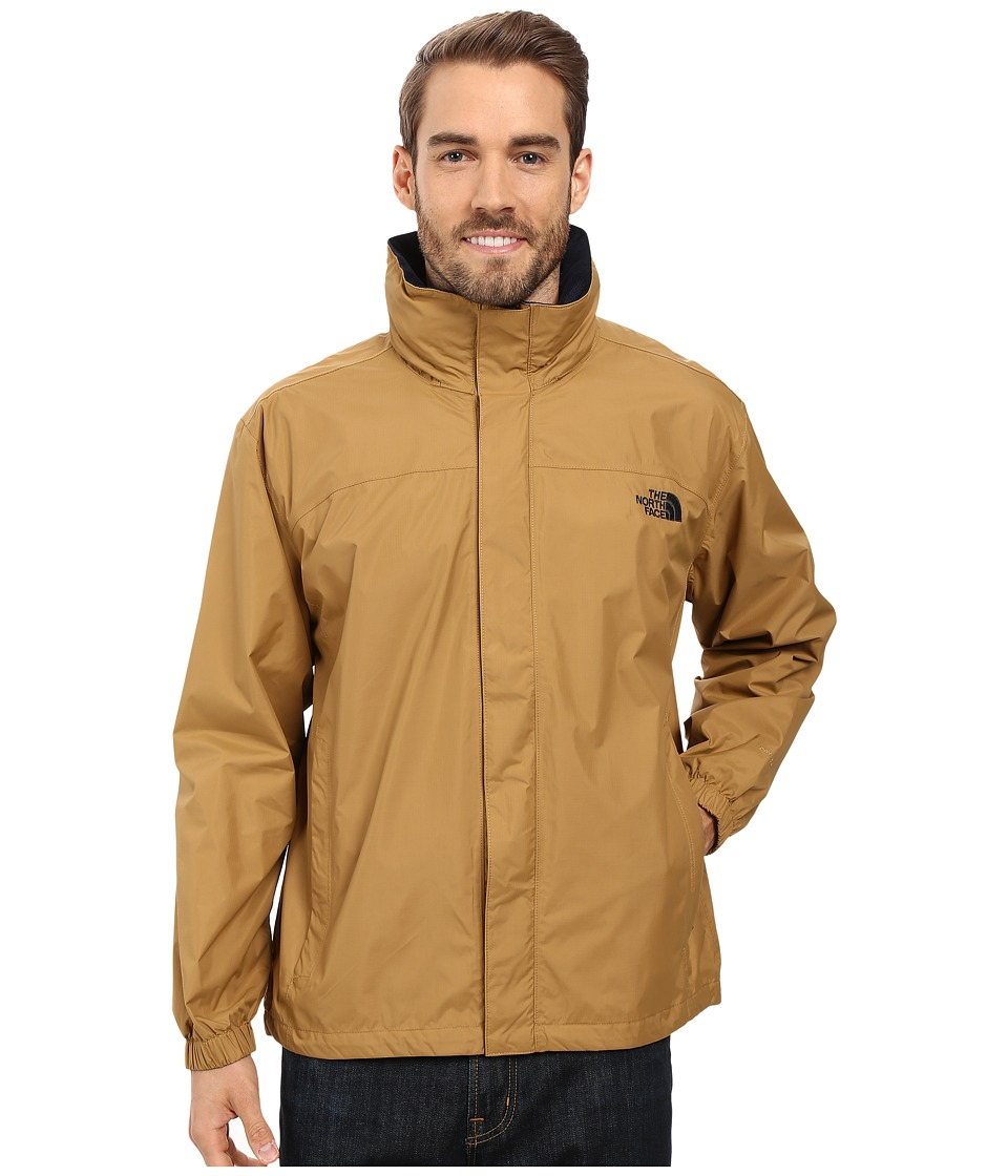 The North Face - Resolve Jacket (Dijon Brown) Men's Sweatshirt