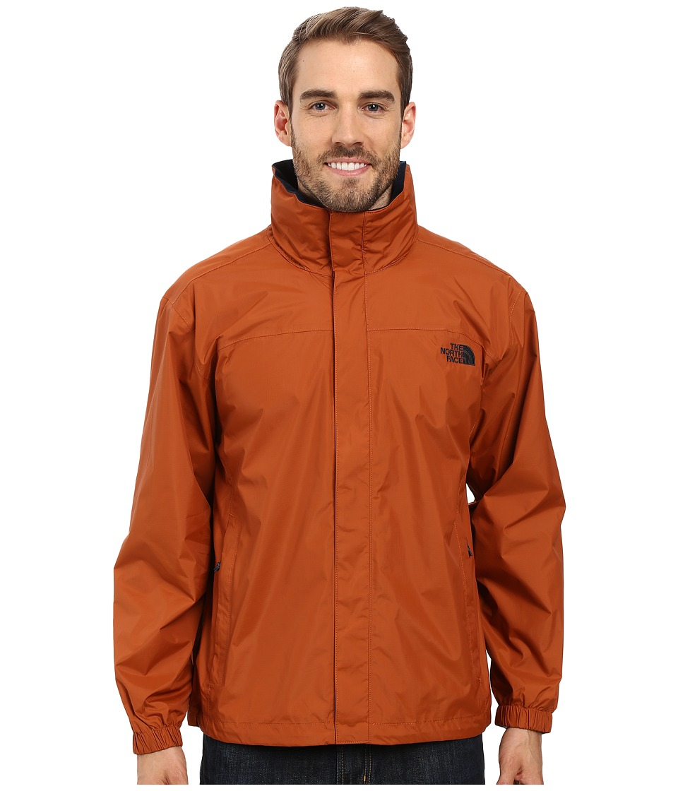 The North Face - Resolve Jacket (Gingerbread Brown) Men's Sweatshirt