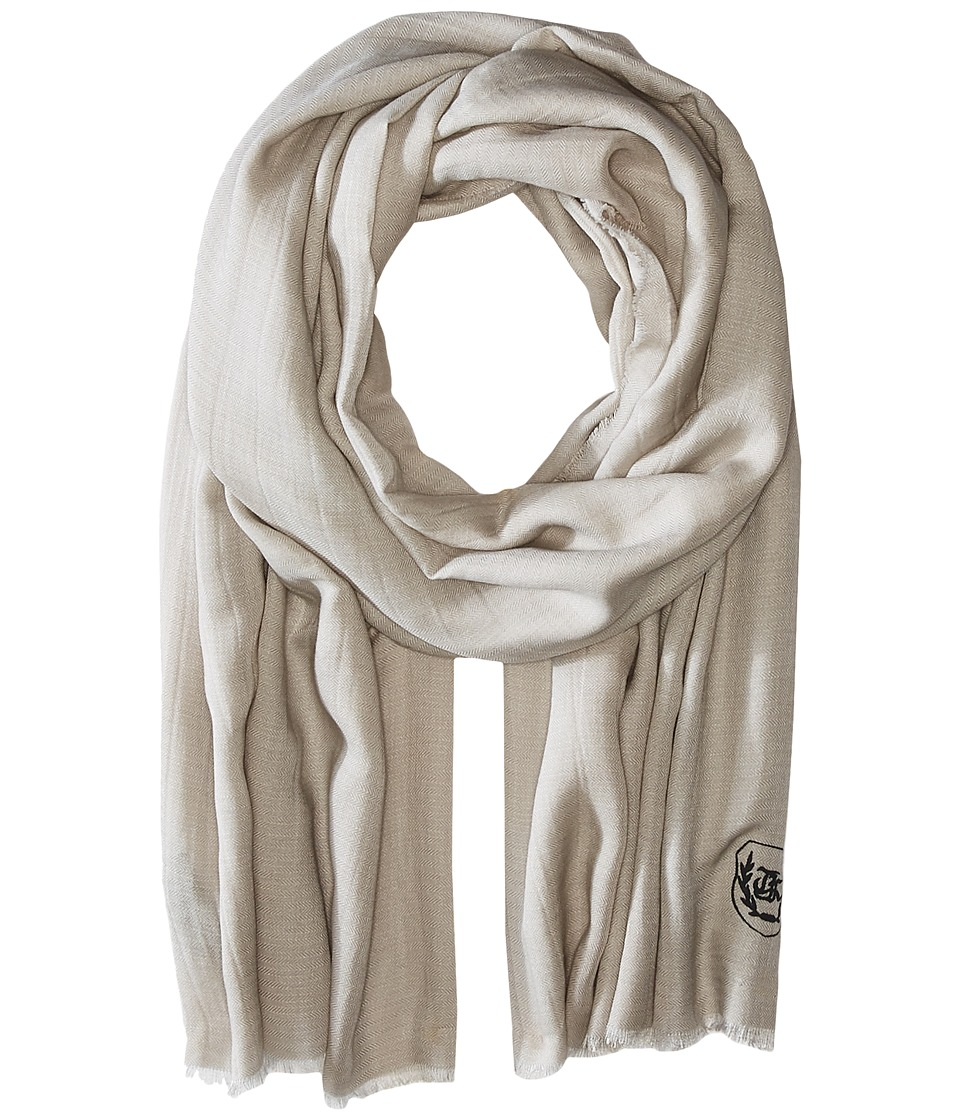 The Kooples - Cotton Crest Scarf (Beige) Scarves
