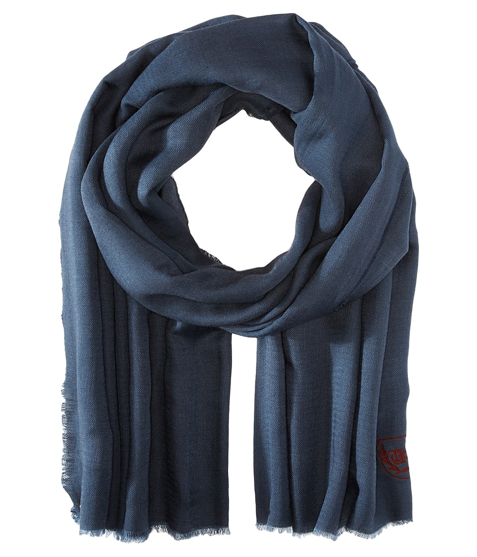 The Kooples - Cotton Crest Scarf (Grey) Scarves