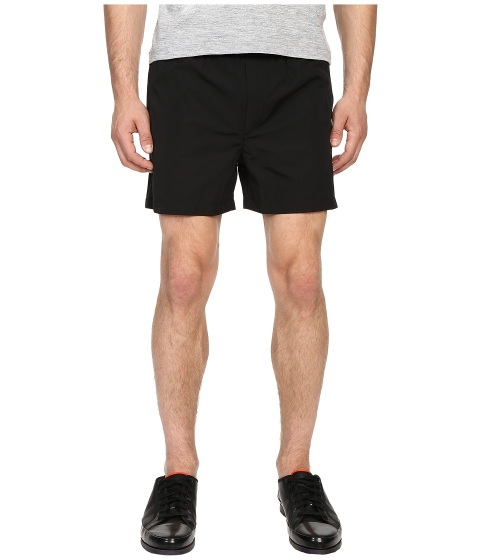 The Kooples - Technical Nylon Shorts (Black) Men's Shorts