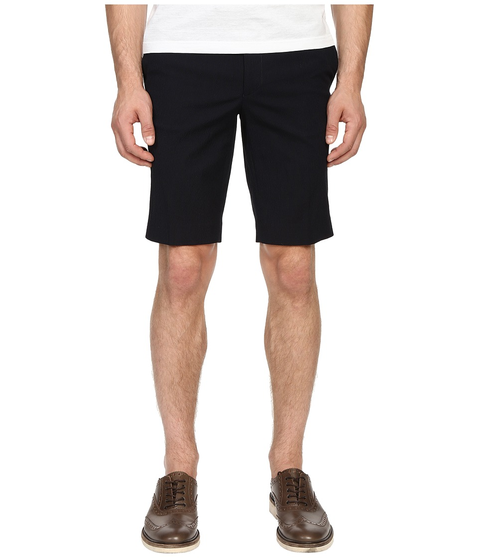 The Kooples - Striped Seersucker Dress Shorts (Blue) Men's Shorts