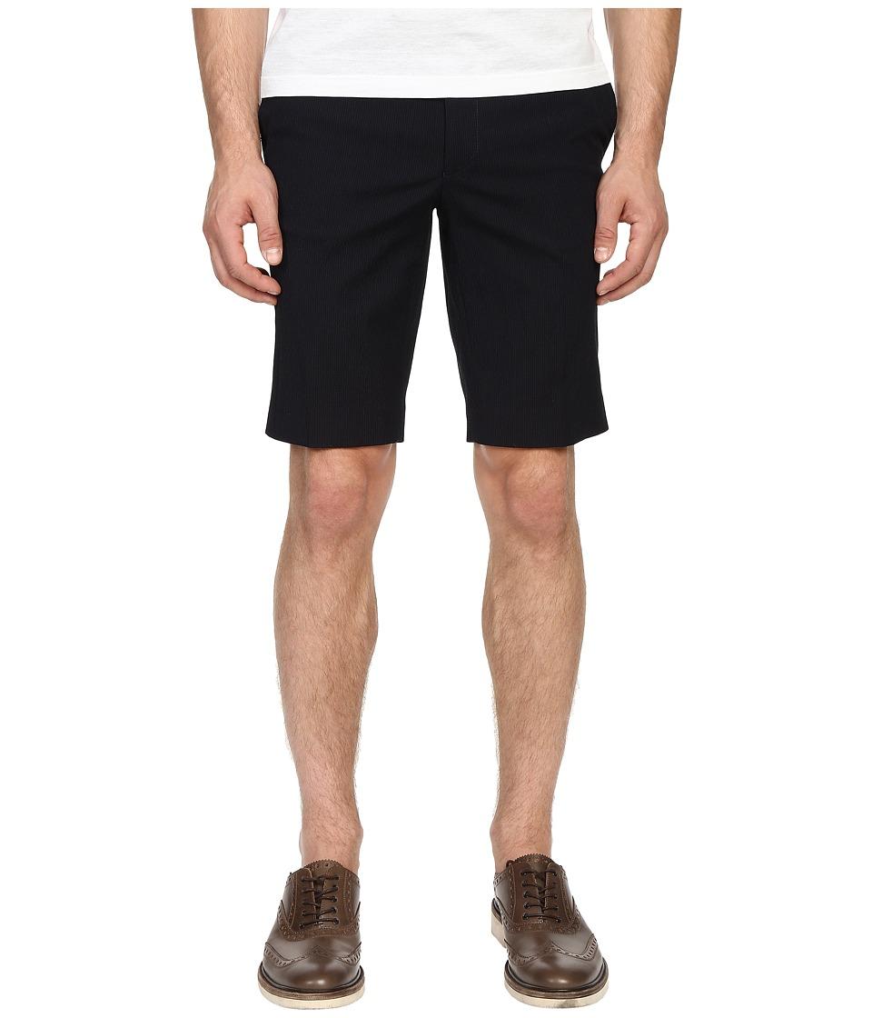 The Kooples - Striped Seersucker Dress Shorts (Blue) Men's Shorts