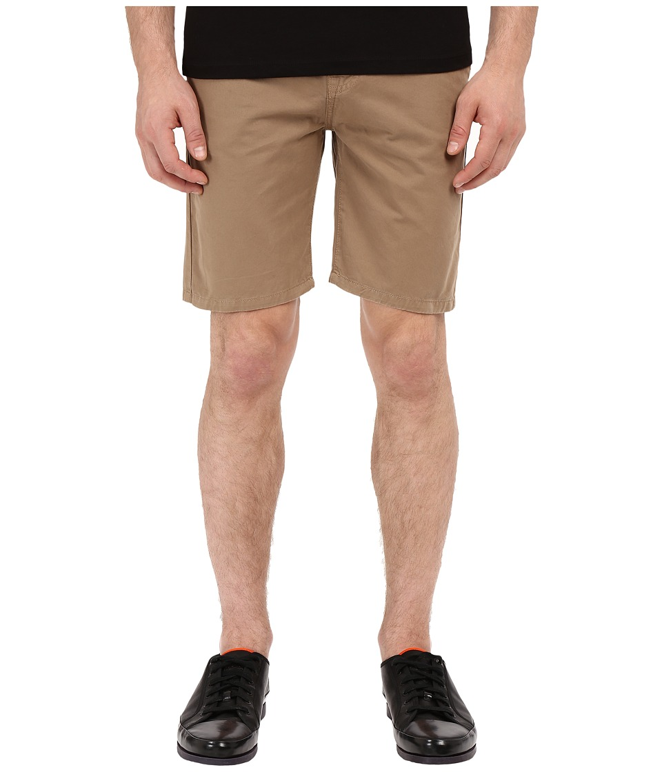 The Kooples - Sport Cotton Chino (Beige) Men's Shorts