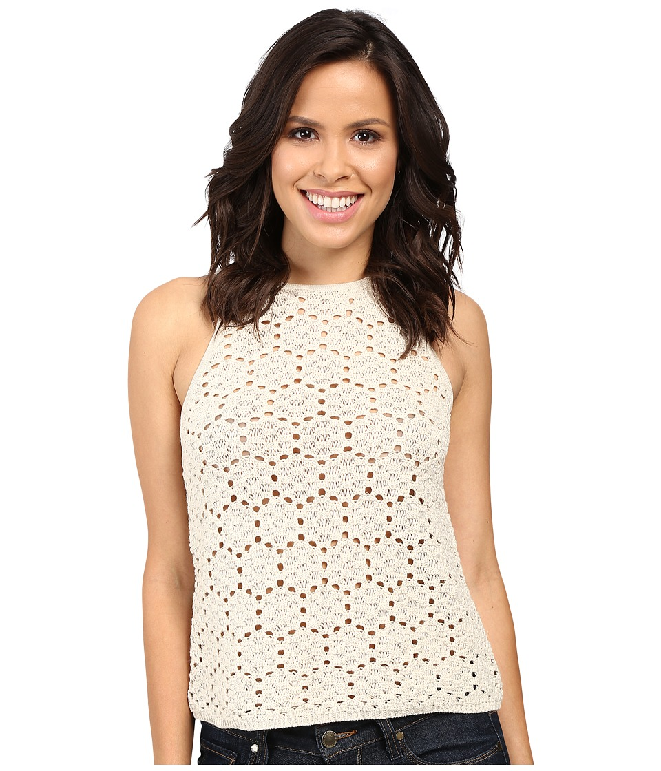 Stetson - Double Knit Lace Muscle Tee (White) Women's T Shirt