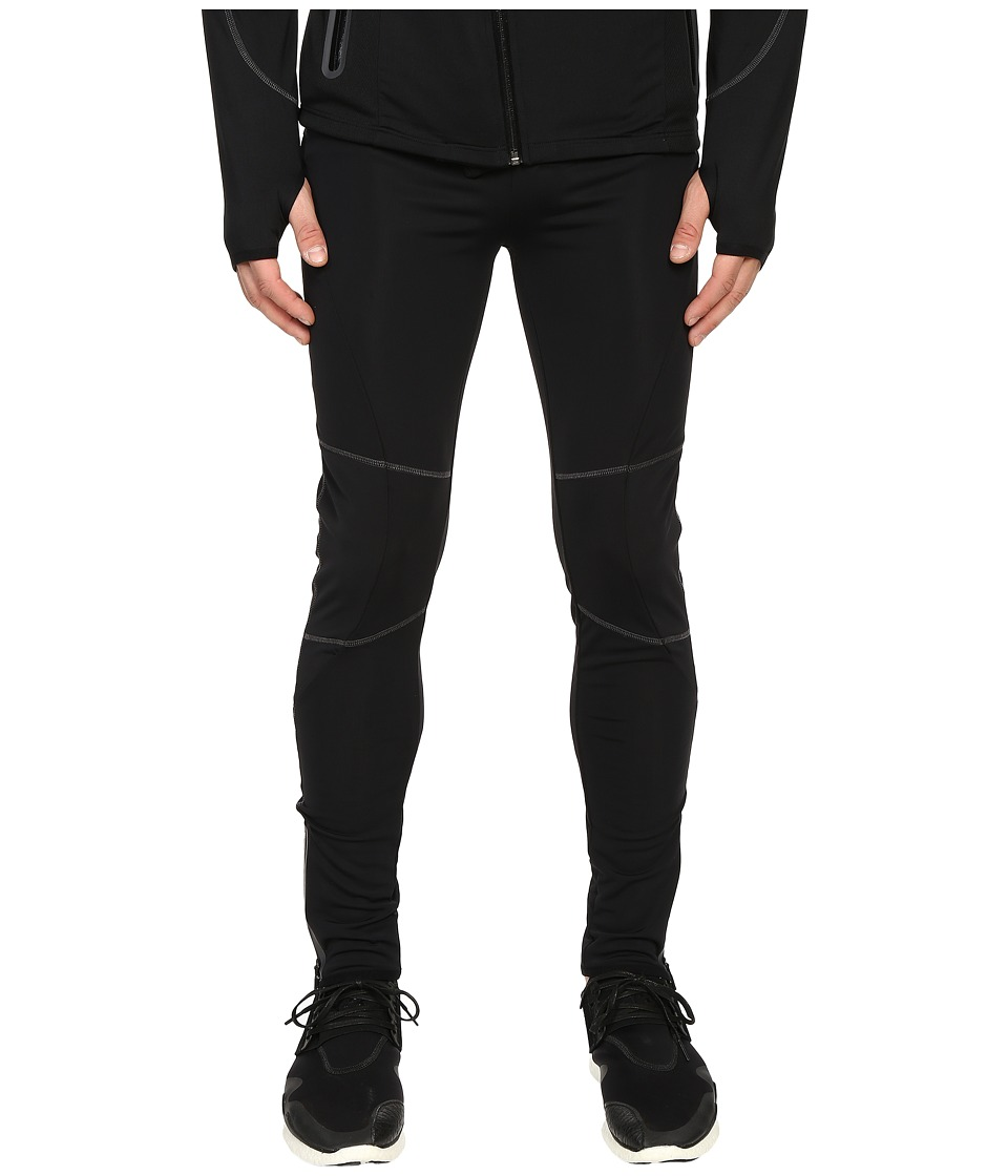 The Kooples - Sport Jersey Flatlocks Pants (Black) Men's Casual Pants