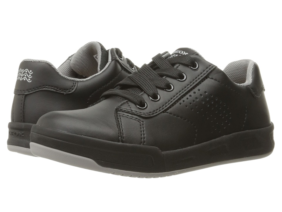 Geox Kids - Jr Rolk Boy 5 (Little Kid/Big Kid) (Black) Boy's Shoes