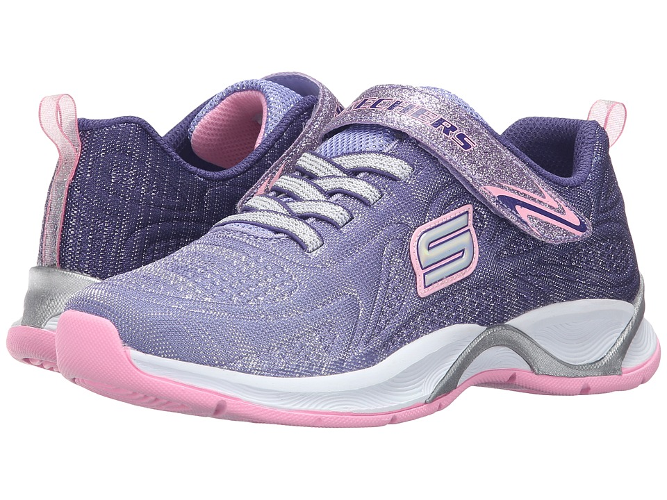 SKECHERS KIDS - Hi Glitz 81127L (Little Kid/Big Kid) (Purple/Pink) Girl's Shoes