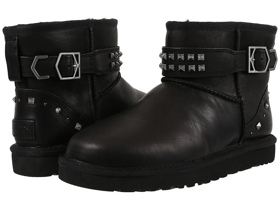 UGG - Neva Deco Studs (Black) Women's Boots
