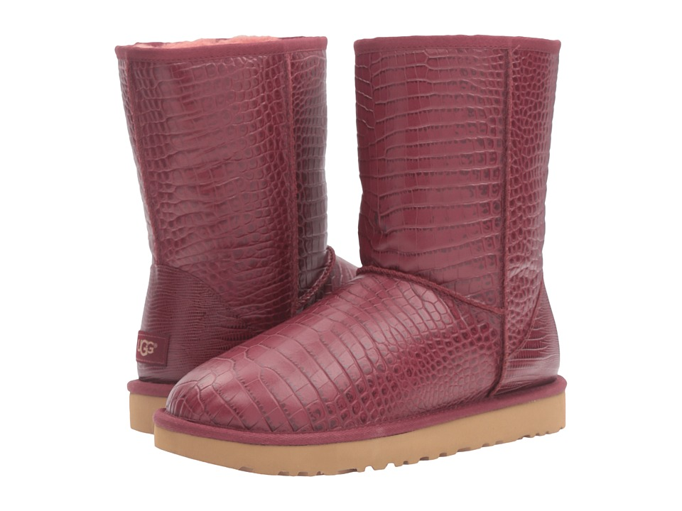 UGG - Classic Short Croco (Lonely Hearts) Women's Boots