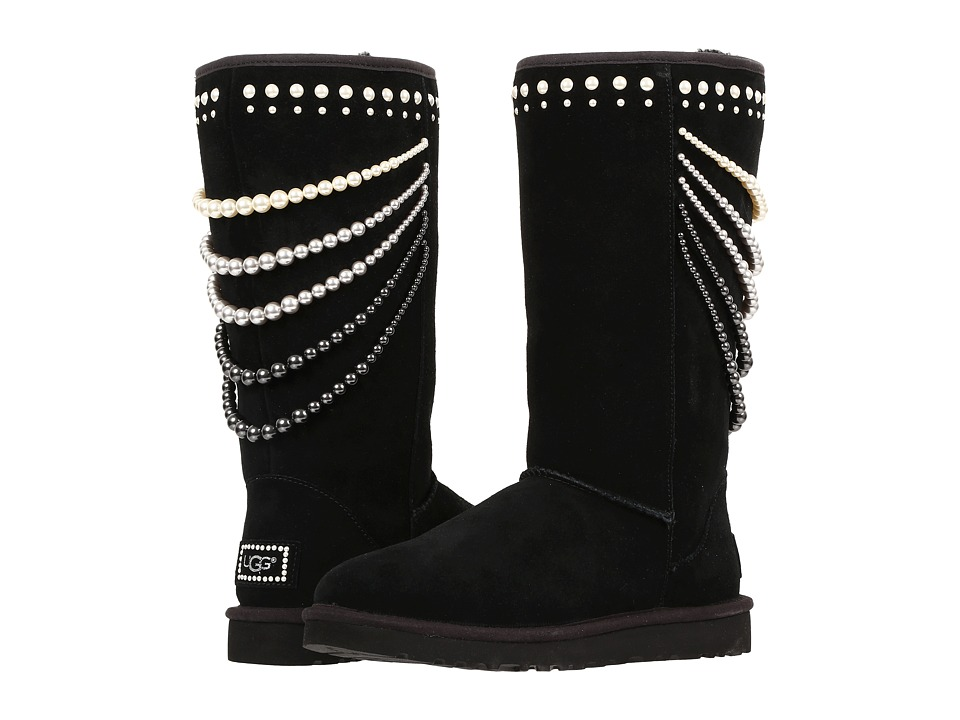 UGG - Calais Pearls (Black) Women's Boots