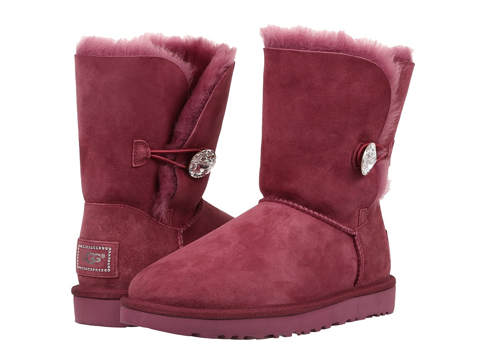 UGG - Bailey Button Bling (Bougainvillea) Women's Boots