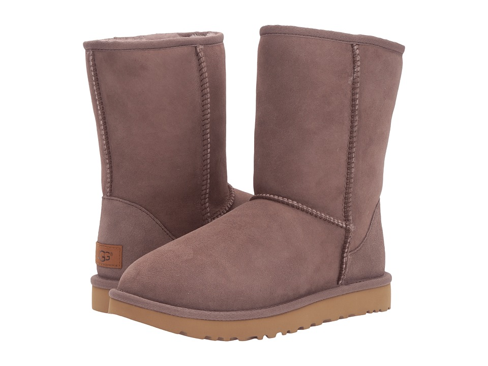UGG - Classic Short II (Stormy Grey) Women's Boots