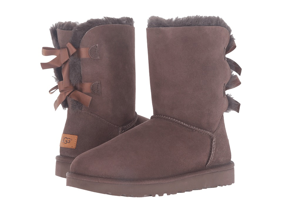 UGG - Bailey Bow II (Chocolate) Women's Boots