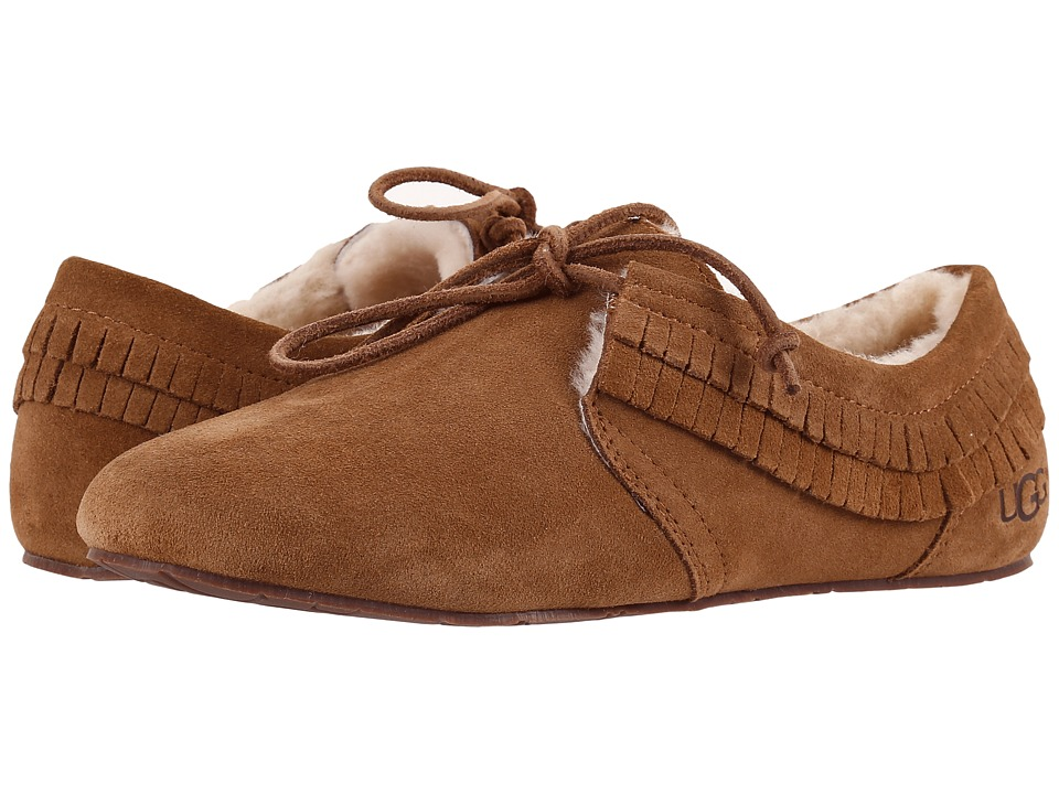 UGG - Nikola (Chestnut) Women's Slippers