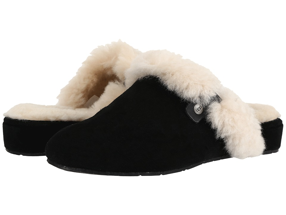 UGG - Elanor (Black) Women's Slippers