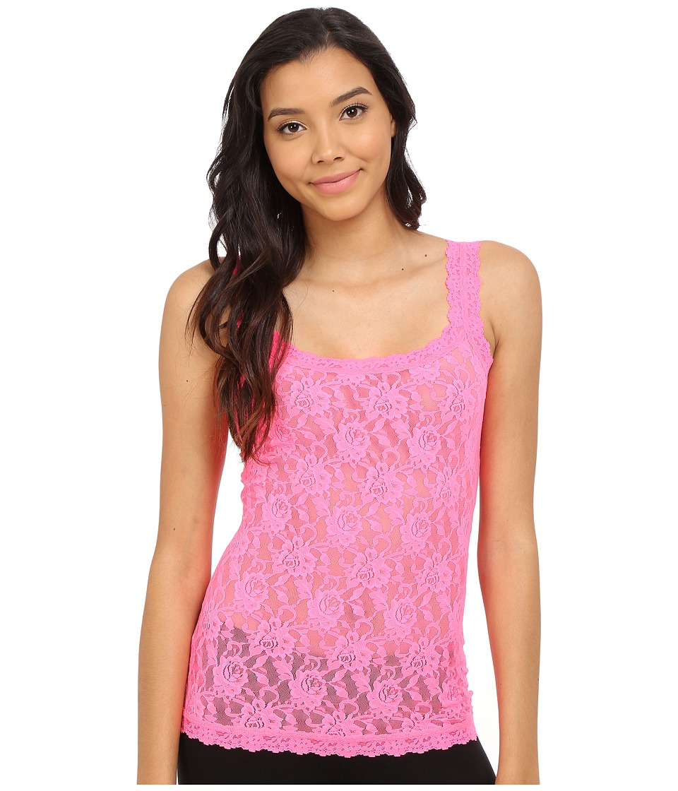 Hanky Panky - Signature Lace Unlined Cami (Sizzle Pink) Women's Lingerie