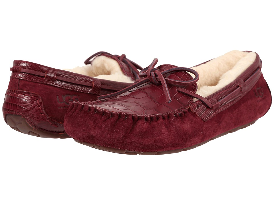 UGG - Dakota Croco (Lonely Hearts) Women's Slippers