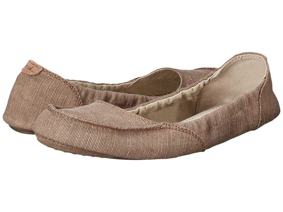 Sanuk Elle V. Eight (Tobacco) Women's Slip on Shoes
