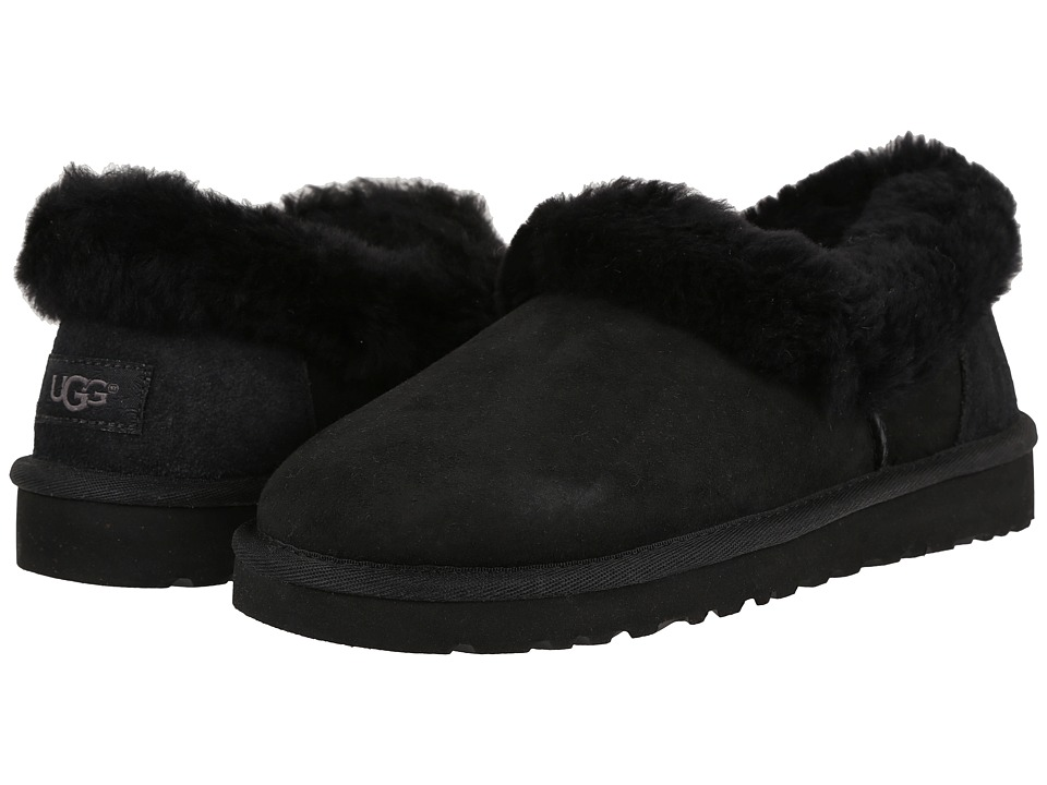 UGG - Nita (Black) Women's Slippers