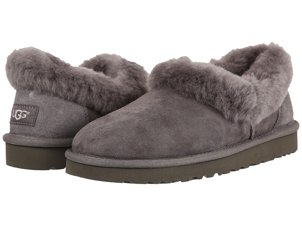 UGG - Nita (Grey) Women's Slippers