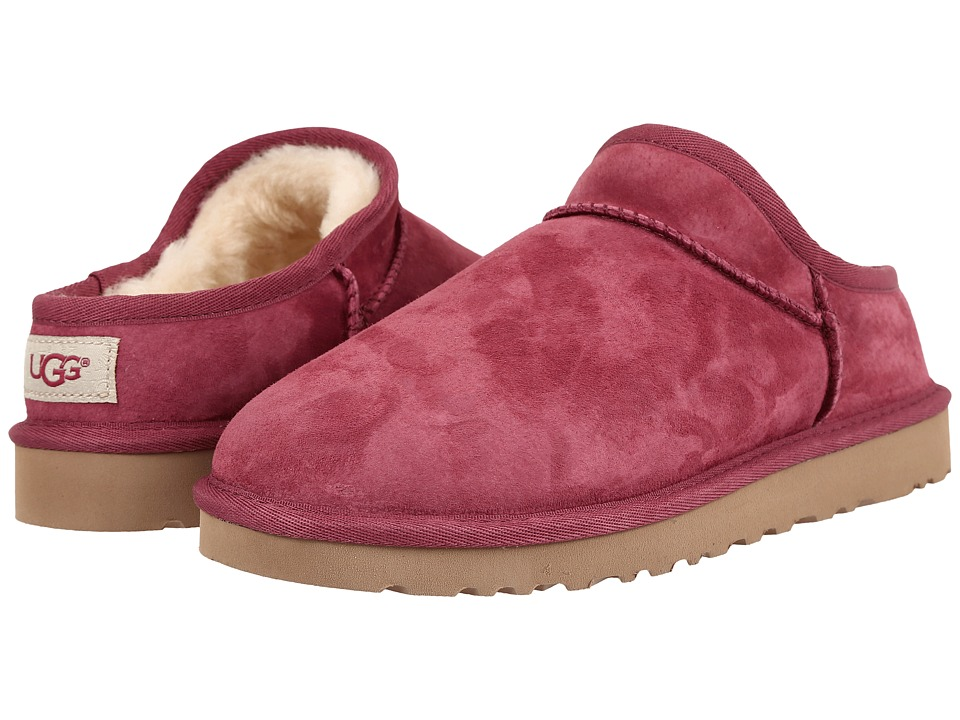 UGG - Classic Slipper (Bougainvillea) Women's Slip on Shoes