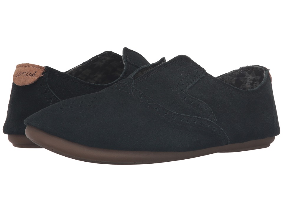 Sanuk Adaline (Washed Black) Women