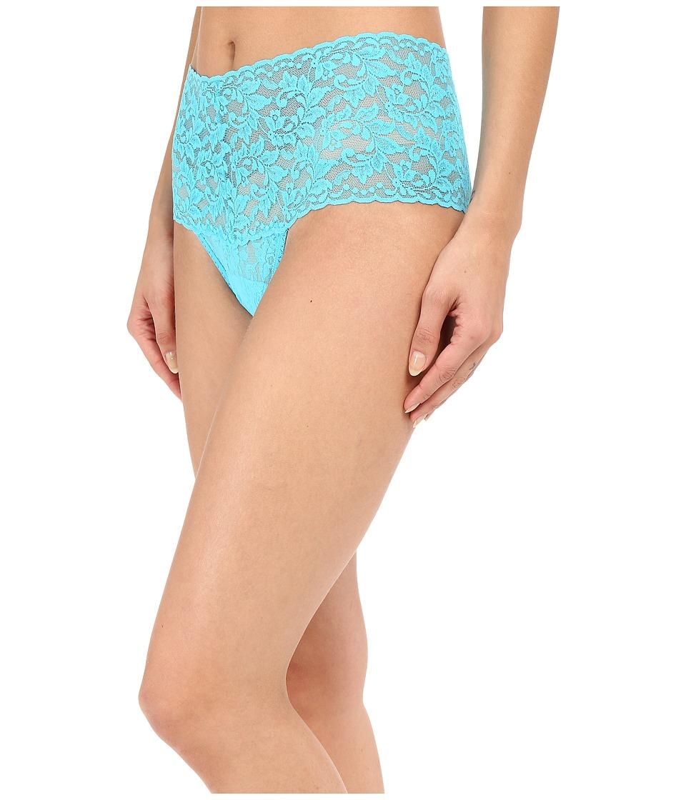 Hanky Panky - Signature Lace Retro Thong (Calypso) Women's Underwear