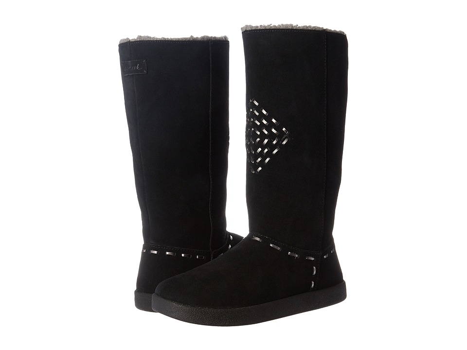 Sanuk - Toasty Tails (Black) Women's Pull-on Boots