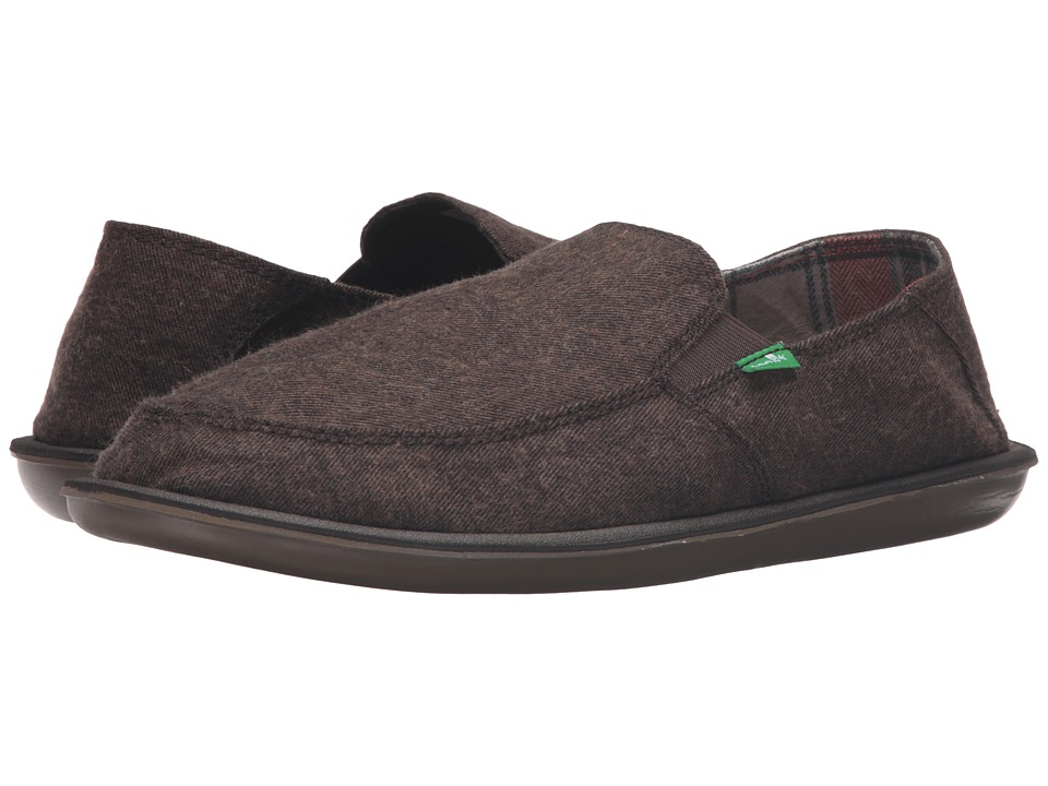 Sanuk - Vice TX (Brown) Men's Slip on Shoes