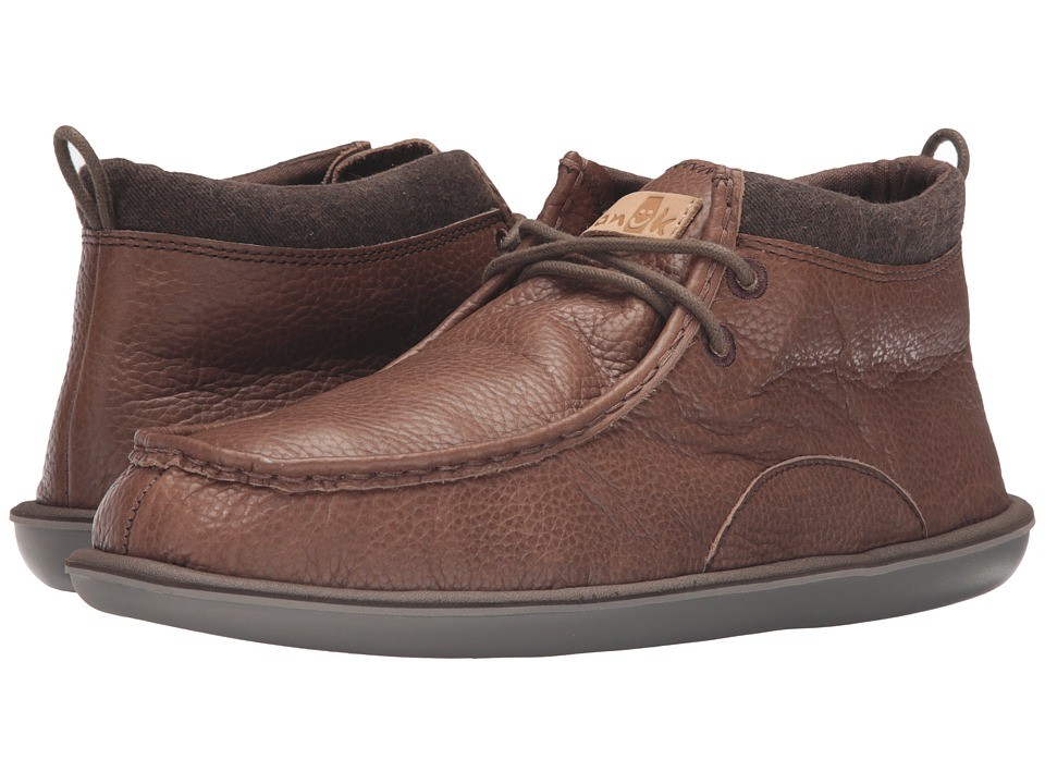 Sanuk - Walla Deluxe (Brown) Men's Lace up casual Shoes