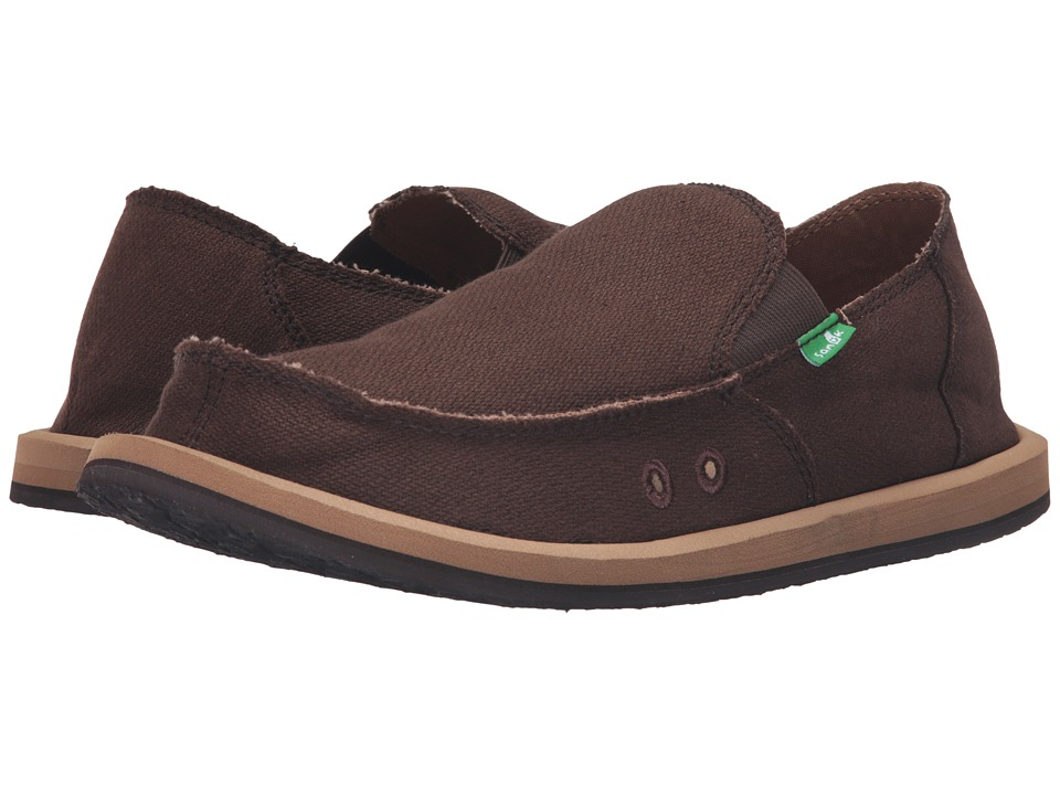 Sanuk - Hemp (Brown) Men's Shoes