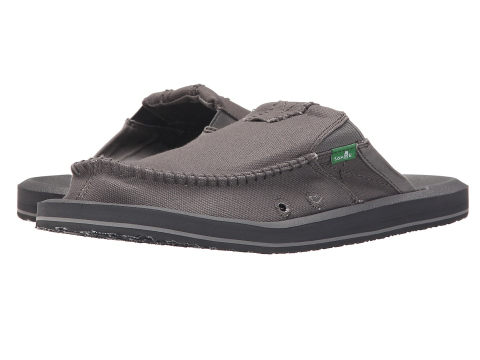 Sanuk - You Got My Back II (Grey) Men's Slip on Shoes