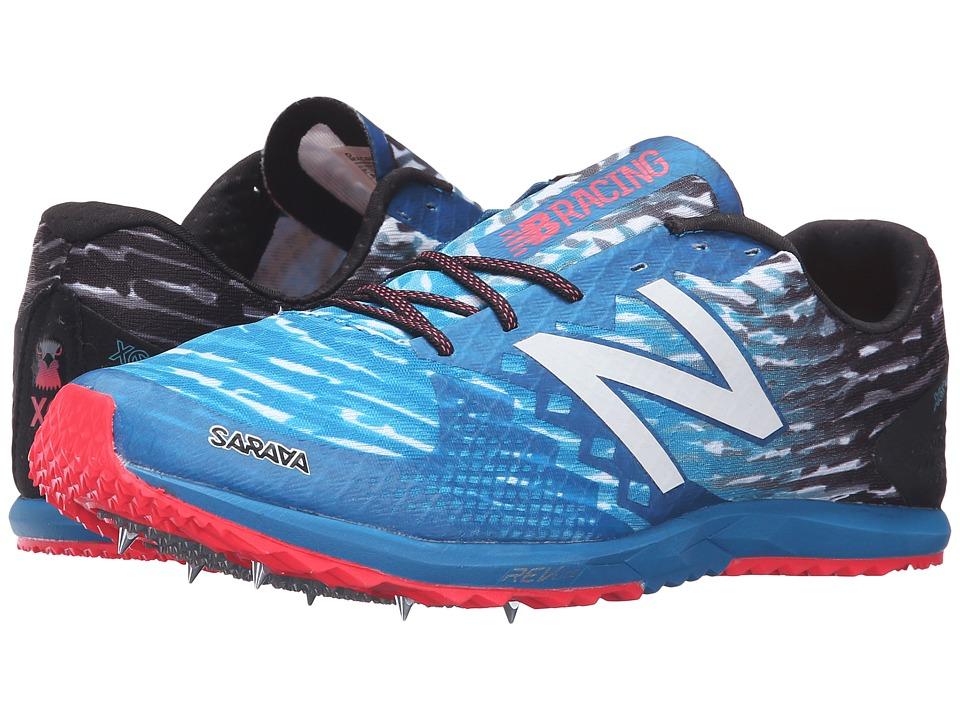 New Balance - MXC900 (Black/Blue) Men's Running Shoes