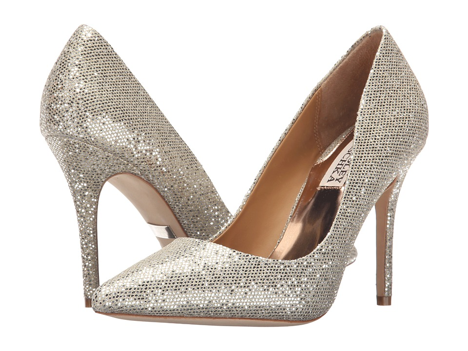 Badgley Mischka - Ponder (Light Platino) High Heels