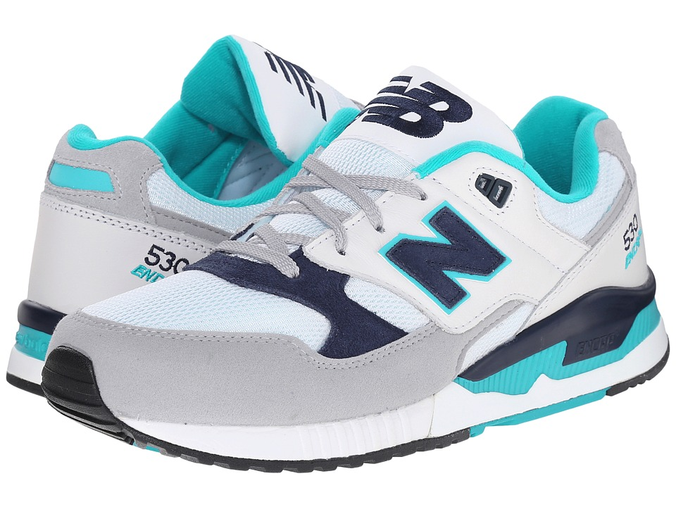 New Balance Classics - M530 (White/Blue 1) Men's Classic Shoes