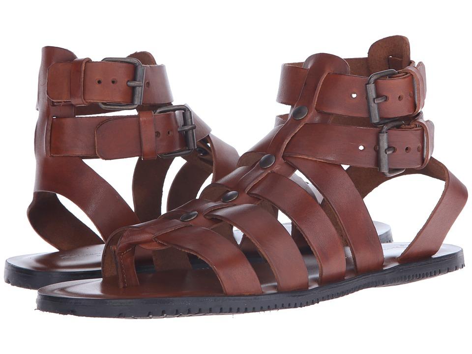 Massimo Matteo - Buckle Strap Gladiator (Cuoio) Men's Sandals