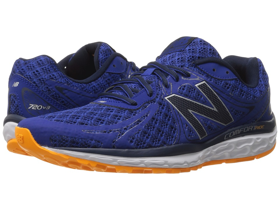 New Balance - 720v3 (Blue/Navy) Men's Running Shoes