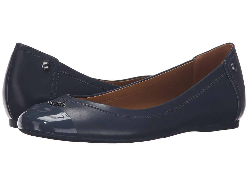 COACH - Chelsea (Midnight Navy/Midnight Navy) Women's Flat Shoes