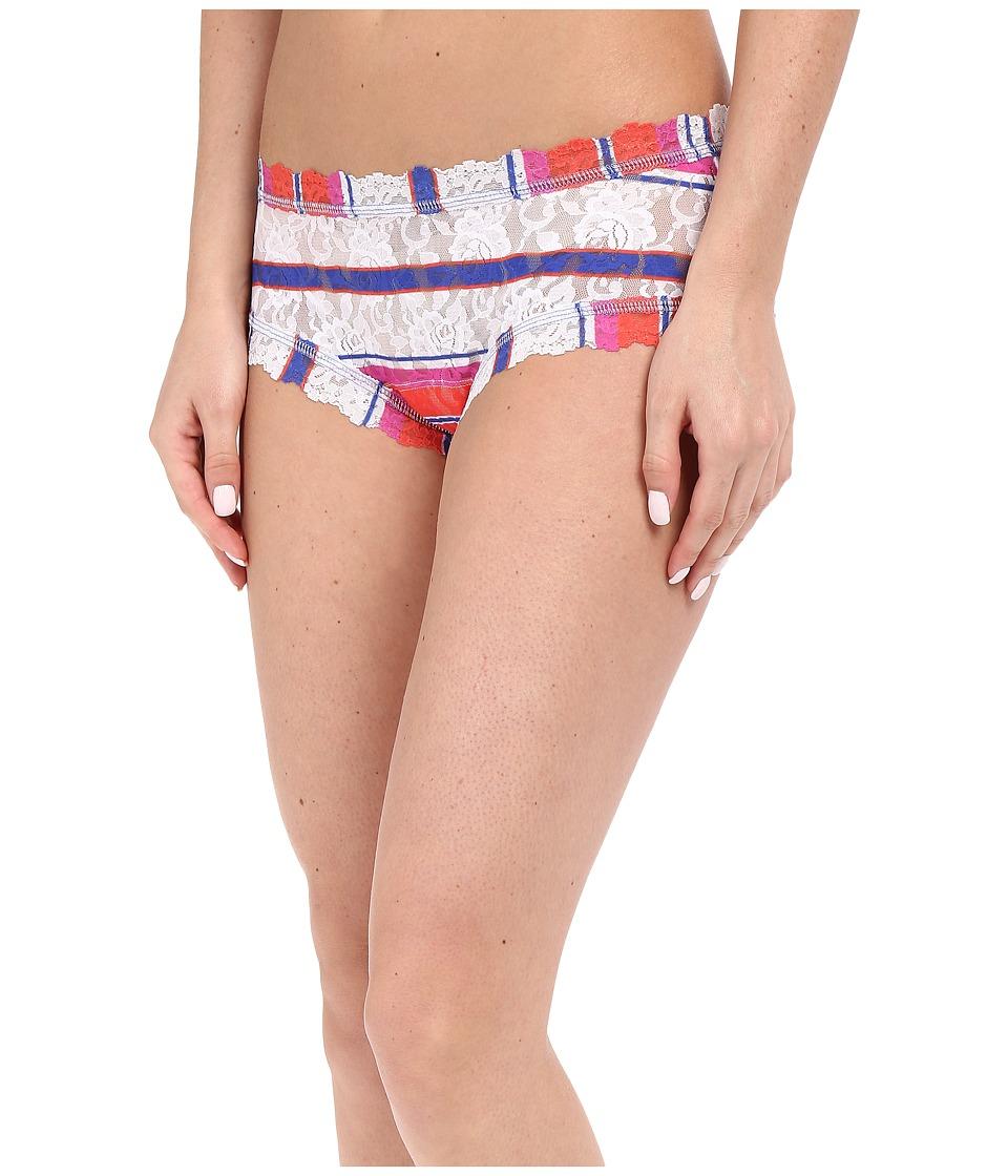 Hanky Panky - Cabana Stripe Boyshorts (Multi) Women's Underwear