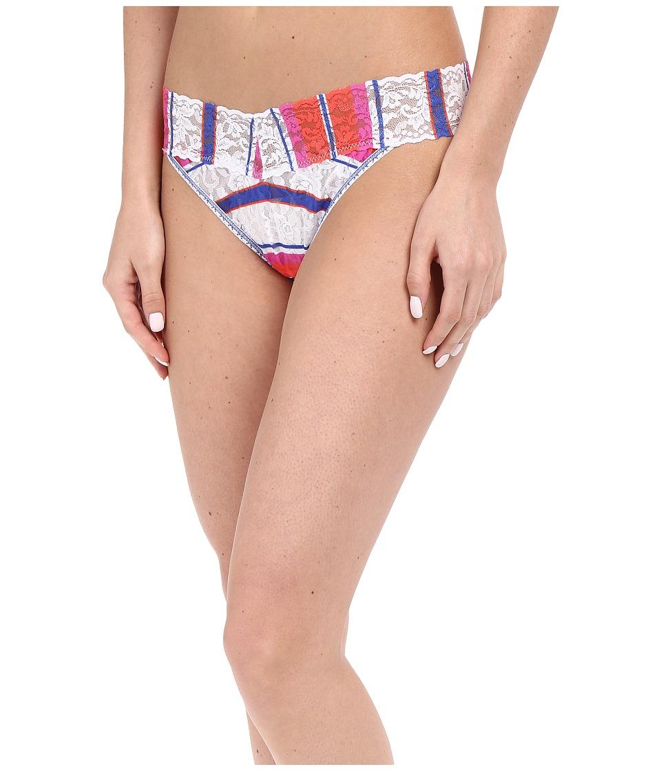 Hanky Panky - Cabana Stripe Original Rise Thong (Multi) Women's Underwear