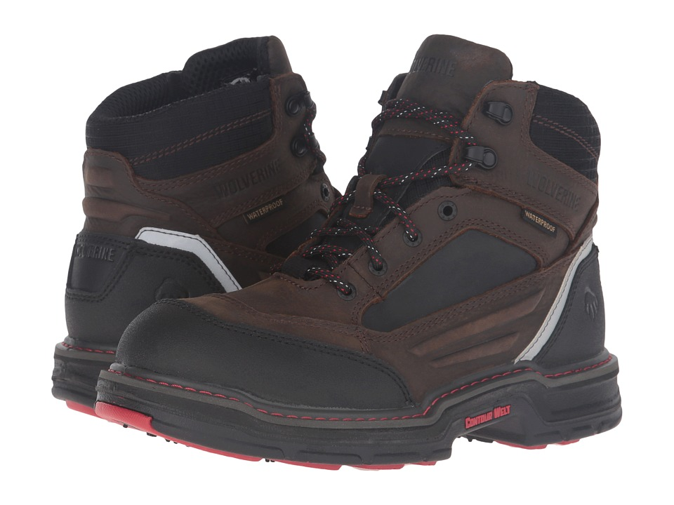 Wolverine - Overman (Brown/Black) Men's Work Boots