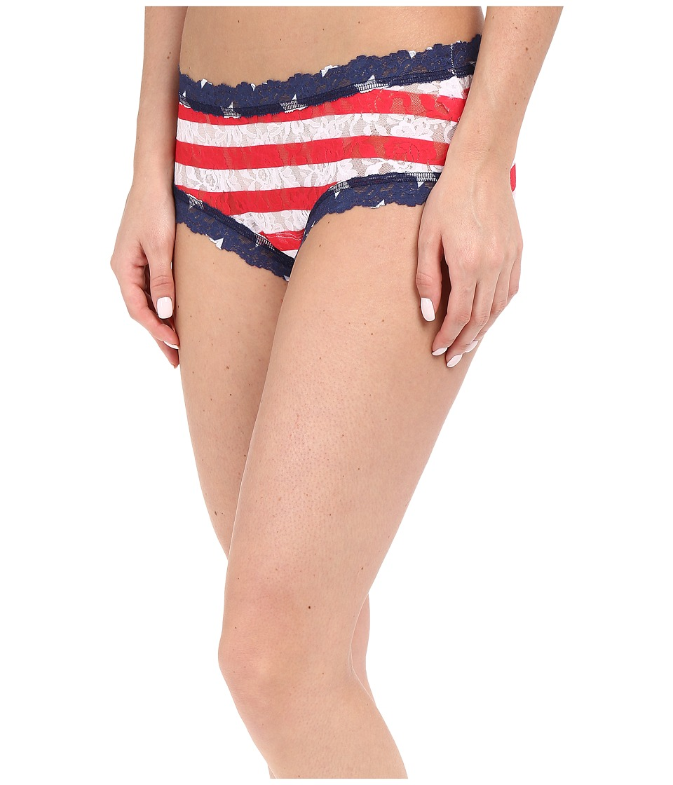 Hanky Panky - Stars Stripes Boyshorts (Multi) Women's Underwear