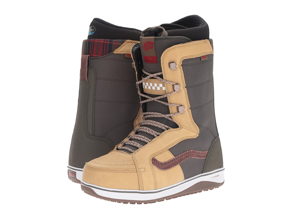 Vans - V-66 '17 (Tan/Forest Green) Men's Cold Weather Boots