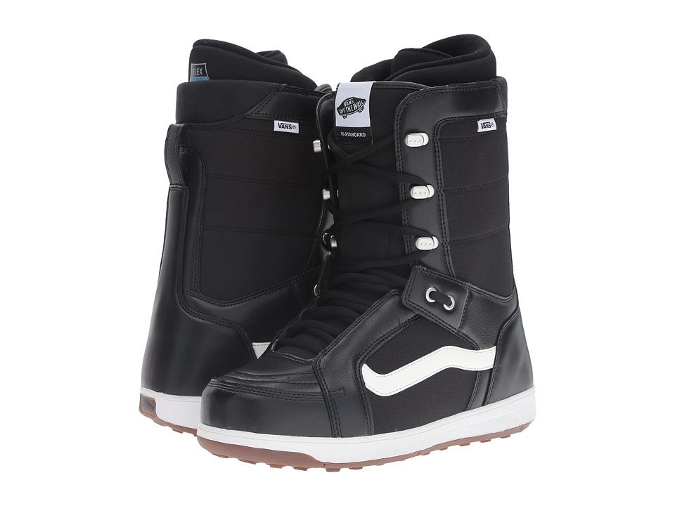Vans - Hi-Standard '17 (Black/White) Men's Cold Weather Boots