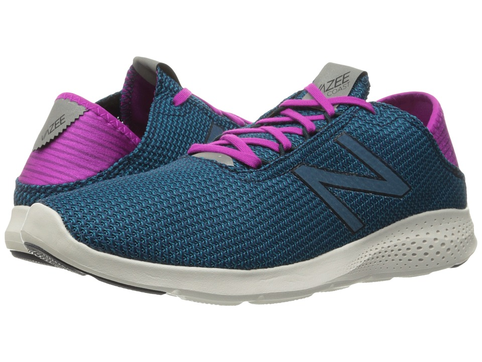 New Balance - Vazee Coast v2 (Teal/Purple) Women's Running Shoes