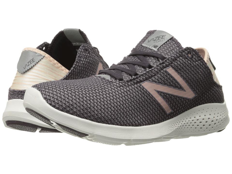 New Balance - Vazee Coast v2 (Dark Grey/Pink) Women's Running Shoes