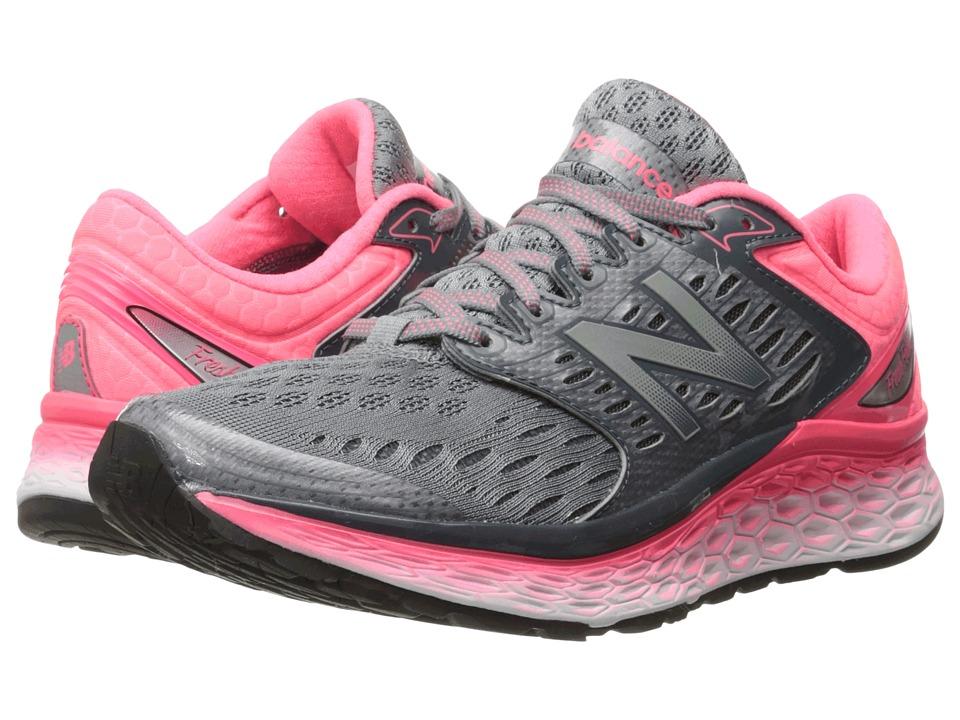 New Balance - Fresh Foam 1080 (Silver/Pink) Women's Shoes