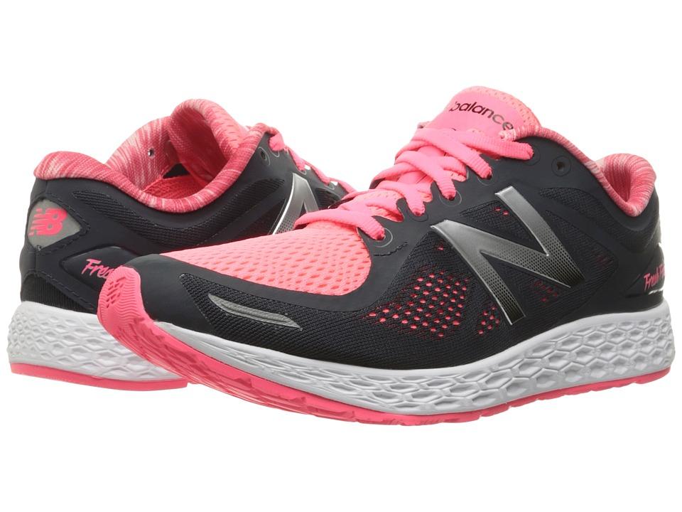 New Balance - Zante v2 (Black/Pink) Women's Running Shoes