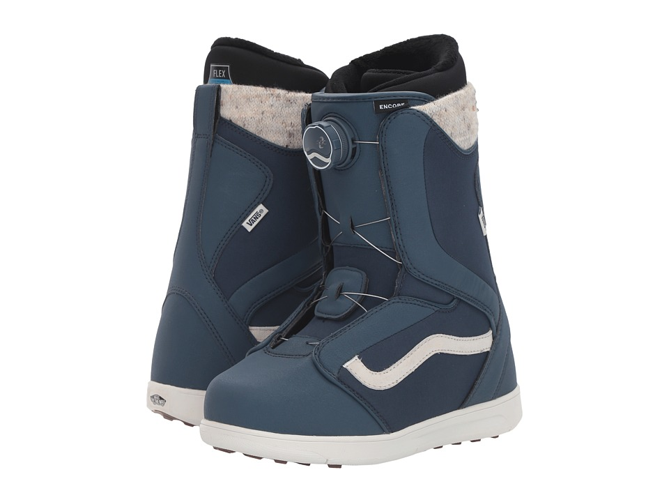 Vans - Encore '17 (Blue) Women's Cold Weather Boots